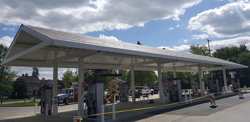 Service Station Conversions Completed On Time and Without Punch Lists
