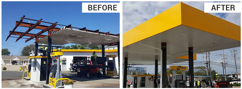If your canopy has been damaged, or needs a major overhaul, we'll get you back in business with as little disruption as possible.